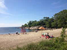 Hidden beach near Rockport, MA