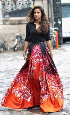 #summer #fashion / red