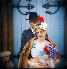 1940s Tea Party Wedding: Lorna & Nigel
