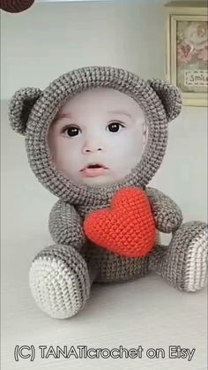 Collection of Crochet Doll Toys Free Patterns: Crochet Dolls, Crochet Toys. Amigurumi Dolls Free Patterns, Crochet Doll Carrier viaThis Pin was discovered by kar Sewing Patterns For Kids, Baby Patterns, Knitting Patterns, Crochet Patterns, Crochet Ideas, Sewing Ideas, Knitting Ideas, Kids Knitting, Crochet For Beginners