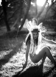 Light, feathers,trees + an open spot