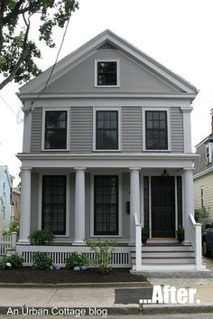 oh my goodness; wait until you see the BEFORE pictures. tremendous transformation of this early 1800s home