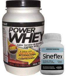 Combo Massa e Definição: Sineflex e Power Whey - Power Supplements