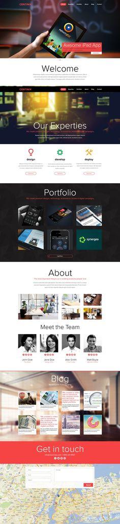 One Page Portfolio Website FOR SALE by ~Nas-wd on deviantART responsive design, web design Design Web, Page Design, Flat Design, One Page Portfolio, Portfolio Website, Portfolio Layout, Website Layout, Web Layout, Webdesign Portfolio