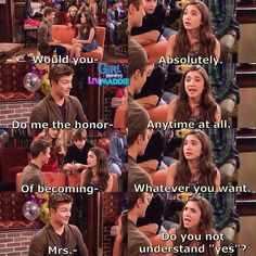 Girl Meets World (2x15):>>if my crush ever asked me out(would never happen tho)