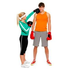 The couple workout. Talk about a relationship builder!