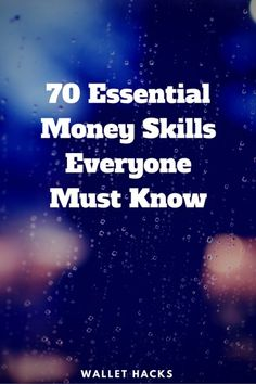 I asked some of the top frugal and personal finance bloggers for the money skills everyone should know - I got SEVENTY. Seventy skills for financial success, how many do you know?