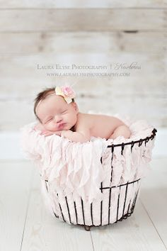 I have an egg basket that was a gift that will be from her Great Grandma Darlene .... how perfect.  This is a must do picture.