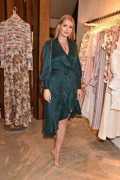 Zimmermann Spring/Summer 2018 party, with Lady Kitty Spencer, Viscountess Weymouth, Sabrina Percy and Jasmine Hemsley Princess Diana Niece, Kitty Spencer, Spencer Family, Royal Fashion, Spring Summer 2018, Lady Kitty, Style Guides, Boho Chic, Cocktail