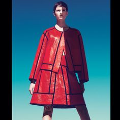 The Bright and the Beautiful Fashion Shoot - Bold Colors for Spring 2013 - Harper's BAZAAR  #HarpersBAZAAR #SpringStyle