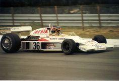 Emilio De Villota (Iberia Airlines) McLaren M23 - Ford
