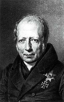 Wilhelm von Humboldt-Prussia was represented by Prince Karl August von Hardenberg, the Chancellor, and the diplomat and scholar Wilhelm von Humboldt. King Frederick William III of Prussia was also in Vienna, playing his role behind the scenes.