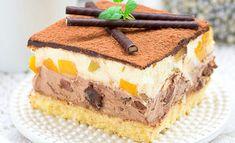 Пляцок Амбасадор – простий у виконанні та неймовірно смачний. З першого погляду пляцок вражає своєю простотою – здавалаося б простий бісквіт з пудинговим кремом. Але поєднання різних смаків робить... Tiramisu, Food And Drink, Chocolate, Cake, Ethnic Recipes, Desserts, Sweets, Cooking Light Recipes, Pastries