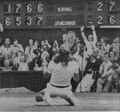 Björn Borg vs. John Patrick McEnroe. Wimbledon, 1980.