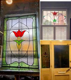 Stained glass windows   Light Leaded Designs   Rossendale Victorian Stained Glass Panels, Modern Stained Glass, Stained Glass Door, Making Stained Glass, Stained Glass Projects, Window Maker, Selling Crafts Online, Victorian Door, Hallway Decorating