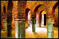 La vieja mezquita árabe de Almonaster la Real