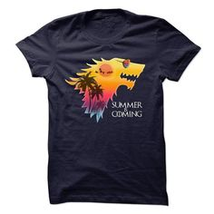 I Love Summer is Coming T shirts