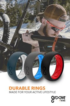 Groove Silicone Wedding Rings for Men are perfect for the athlete hunter professional and outdoorsman. Groove Silicone Wedding Rings for Men are perfect for the athlete hunter professional and outdoorsman. Wedding Bands, Our Wedding, Dream Wedding, Wedding Ring, Wedding Ideas, Sneak Attack, Silicone Rings, Promise Rings, Love And Marriage
