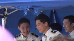 170603 대한민국 브랜드대전 경기남부경찰 홍보단  대기하는 준쮸 김준수 XIA Junsu ジュンス