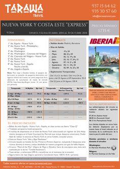 """EEUU: """"Nueva York y Costa Este Express"""", 9 días de viaje desde 1.735 € por persona ultimo minuto - http://zocotours.com/eeuu-nueva-york-y-costa-este-express-9-dias-de-viaje-desde-1-735-e-por-persona-ultimo-minuto-2/"""