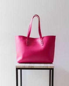 SAHAJA - Carry all leather tote 2b8f27bf96a2d