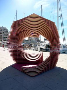 The PortHole: Anamorphic pavilion for the Living Architecture Festival by TOMA Architects | TODODESIGN by ARQ4DESIGN
