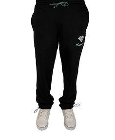 Diamond Supply Co. - Embroidered OG Logo Sweatpants (Black/White/Diamond Blue) $88