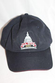 11910dbf6e5 Us open golf usga member 2011 congressional adjustable navy bl baseball cap  hat