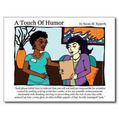 """A Touch of Humor"" Massage Informed Consent Comic http://www.zazzle.com/TigerLilyStudios?rf=238891780775066757"