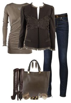 """""""Gucci Boots (IV)"""" by partywithgatsby ❤ liked on Polyvore featuring Hudson Jeans, Marni, Gucci, CO-OP Barneys New York, Chanel, Erickson Beamon, Tory Burch, Balenciaga, women's clothing and women"""