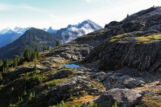 A little lake about 5500 feet up in the Alpine Lakes Wilderness. [5184  3456] [OC]