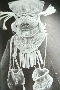 The Wonderful World of Dona Z. Meilach (1970s Crochet)