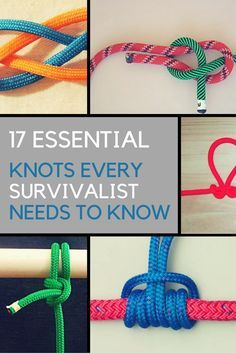 If you want to prepare yourself for an emergency, learning how to tie knots important. Here are 17 essential knots you need to learn how to tie today. | Ideahacks.com