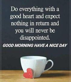 Have A Positive Attitudegood Morning Good Morning Morning