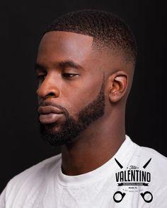 Black Man Haircut Fade, Short Fade Haircut, Black Hair Cuts, Black Men Haircuts, Black Men Hairstyles, Hairstyles Haircuts, Short Hair Cuts, Short Hair Styles, Beard Shapes