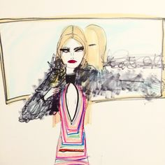 «Vintage @Missoni and a mirror»