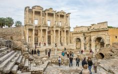 Ephesus Day Trip from istanbul by Air are available. A day trip to Ephesus with daily departures from Istanbul and explore Ephesus, Visit the Temple of Artemis. Turkey Tourism, Turkey Travel, Day Trips From Istanbul, Turkey Pics, Turkey Resorts, Visit Turkey, Ephesus, Day Tours, Historical Sites