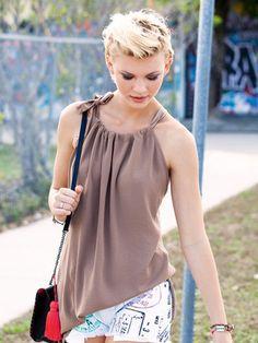104A 0513 B free sewing pattern Burda style