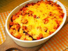 Szefowa w swojej kuchni. ;-): Zapiekanka z sosem słodko-kwaśnym