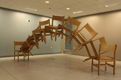 Studio Chair Sculpture – Ryan Philbin & Jesse BN