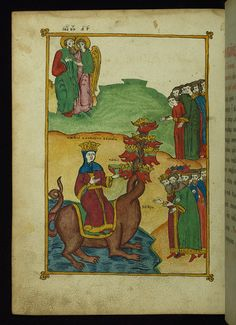 Apocalypse with Patristic commentary, The Whore of Babylon, Walters Manuscript by Walters Art Museum