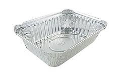 1-1/2 lb. Oblong Deep Aluminum Foil Pan 50/PK - (Ref # 2060-30-50) NO LIDS