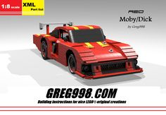 Red Moby/Dick by Greg998