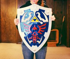 Hyrule shield from The Legend of Zelda....I own one.  :)