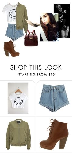 """09 daddy ft derek luh"" by nikkyvanderoer ❤ liked on Polyvore featuring WithChic, Maison Scotch, Mulberry, women's clothing, women's fashion, women, female, woman, misses and juniors"