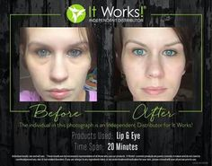 I love our lip and eye cream. Kick eye bags and dark circles to the curb!