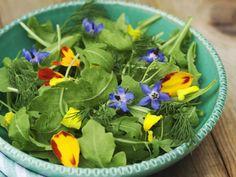 Raukesalat mit Essblüten ist ein Rezept mit frischen Zutaten aus der Kategorie Salat. Probieren Sie dieses und weitere Rezepte von EAT SMARTER!