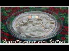 Iogurte grego caseiro sem lactose - YouTube