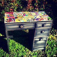 Custom Made to Order Comic Book Table. by GreenDoorTradingCo, $124.99