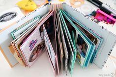 Dieses Minialbum ist perfekt als Geschenkidee in Form eines tollen Fotoalbums. Unterschiedlich gestalteten Seiten machen es besonders individuell.